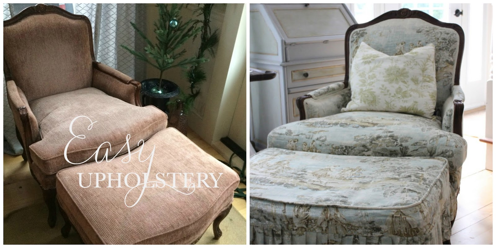 As I Had Never Upholstered Before, I Went About It In A Different Fashion,