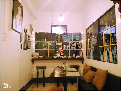 Shake and Brew Cafe Interior