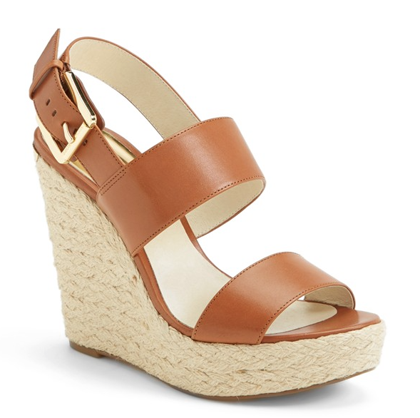 Weekend Steals & Deals | Michael Kors Espadrille Wedges