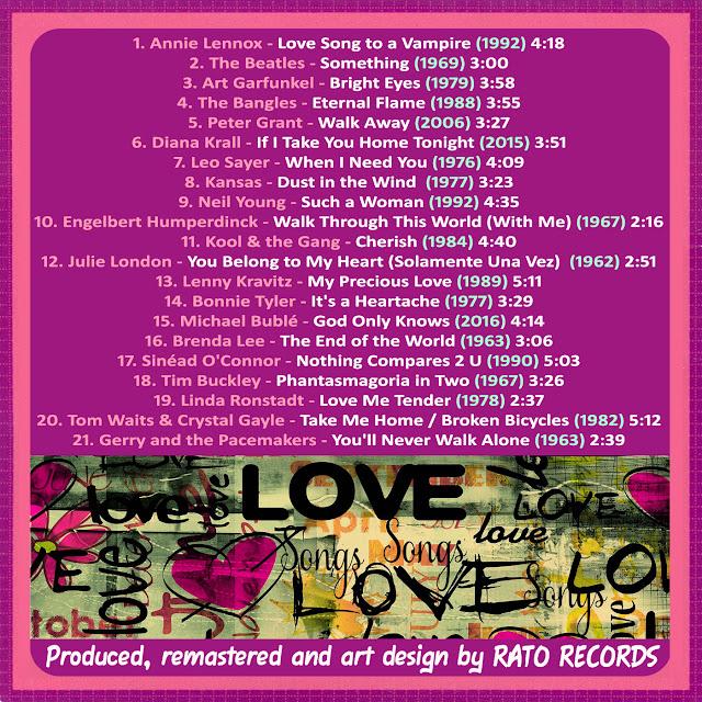 Cd LOVE SONGS FOREVER 2 Back