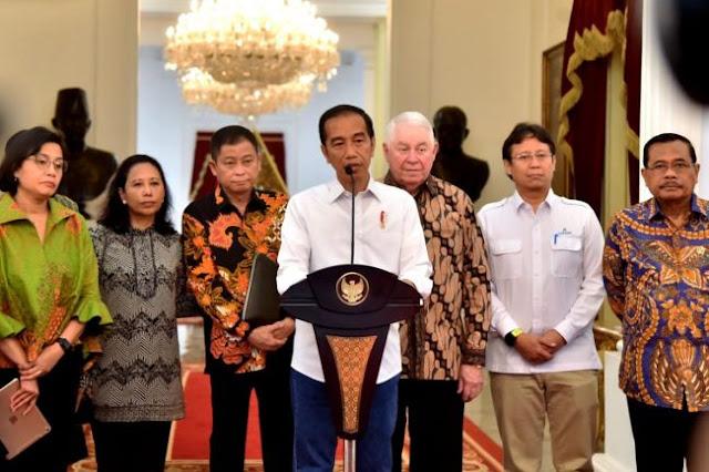 Freeport, Keputusan 'Goblok' Jokowi dan Pembelaan Sri Mulyani