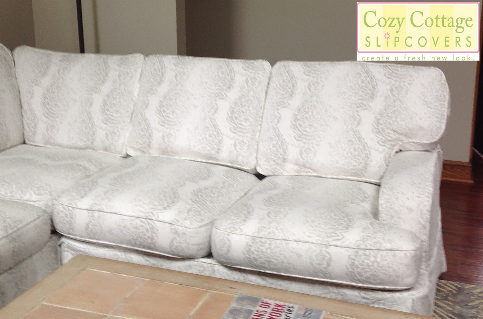 Cozy Cottage Slipcovers : sectionalmatching from cozycottageslipcovers.blogspot.ca size 1600 x 1058 jpeg 206kB