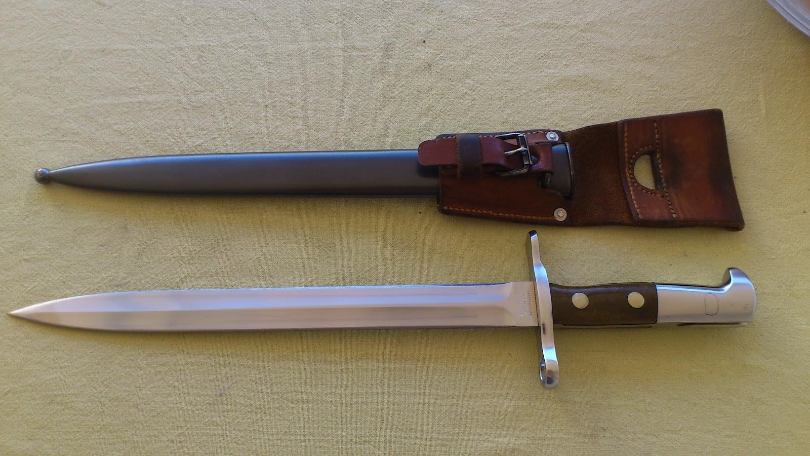 Mario S Swiss Army Knives Swiss Bayonet Model 1918