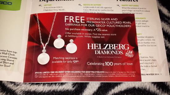 أحصل على هدايا و كتالوج عن المجوهرات مجانا الى غاية باب منزلك