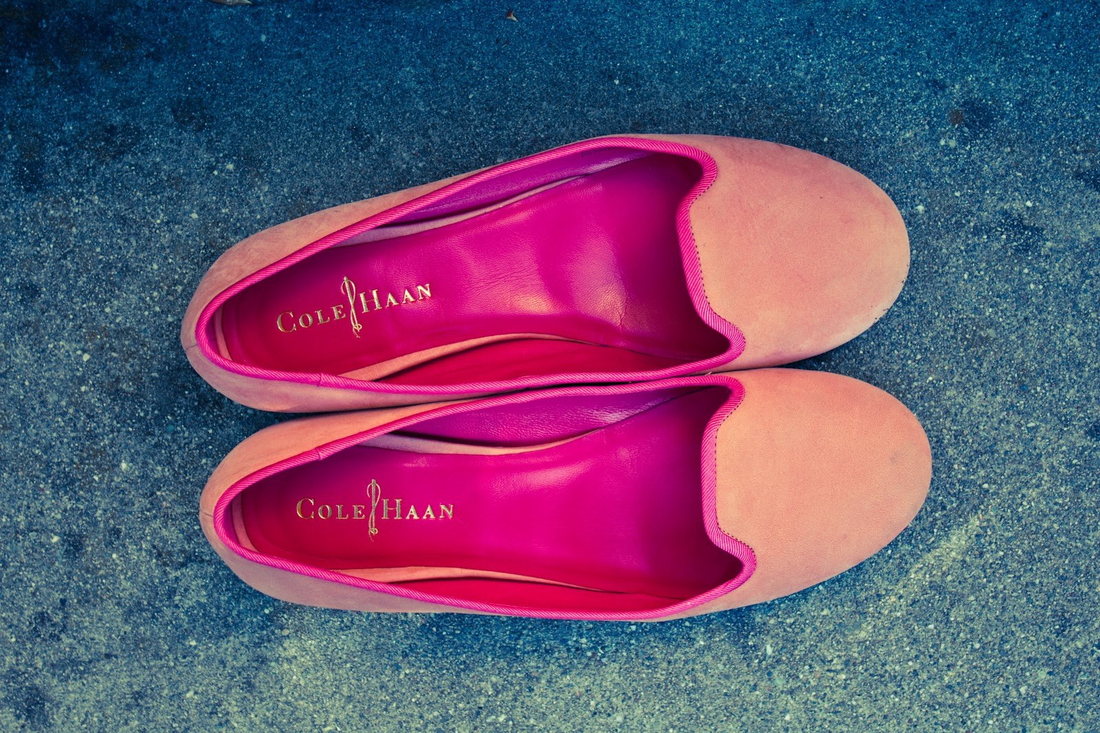 d5fc54b20644 Finally, I love these salmon pink suede slippers. Unfortunately, after I  promised myself I wouldn't buy anything but staples for my wardrobe, ...