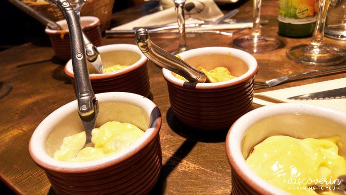 Sauces à fondue