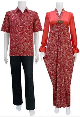 Batik Sarimbit Modern Model Kaftan Batik Sarimbit Baju Batik