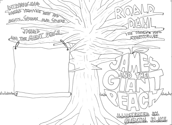 James And The Giant Peach Ladybug Coloring Page Coloring Pages