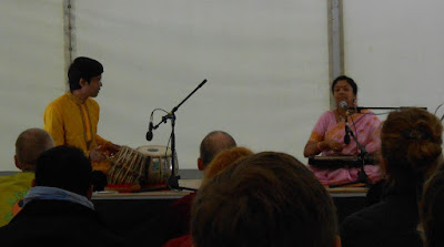 Shirin Sengupta and Rupak Bhattacharjee - Festival Orient, Tallinn - Photo credit Hilary Glover