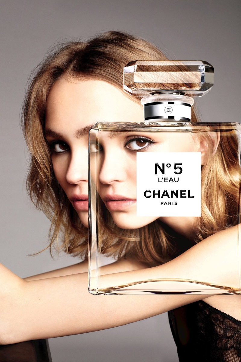Lily-Rose Depp stars in the Chanel L'eau No.5 Perfume Campaign