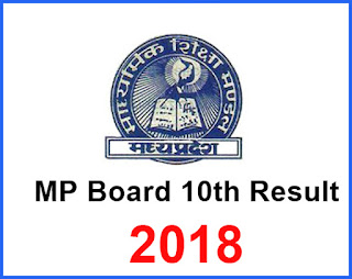 MP-Board-10th-Result-2018, MP (Madhya Pradesh) Board 10th Result 2018
