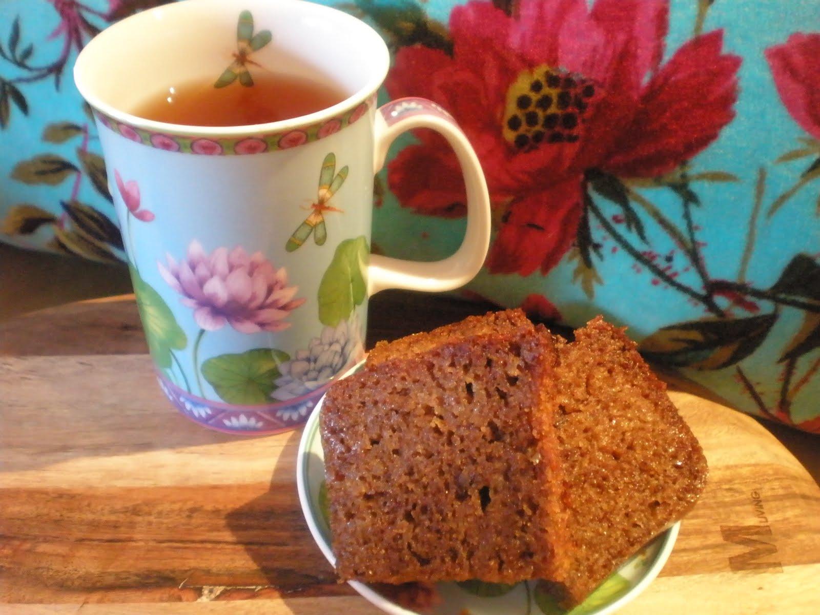 Morning Coffee With Cake Or Teacake