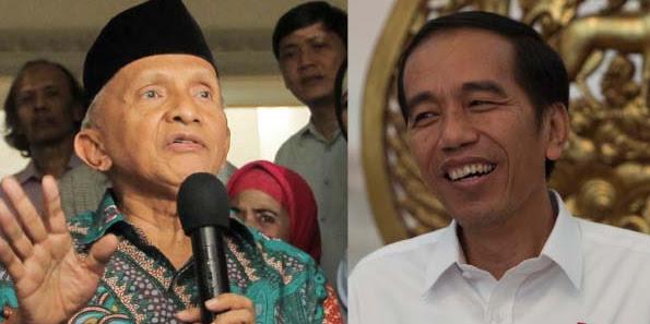 Amien Rais: Jokowi Pemimpin Lemah, Presiden Setingkat Lurah