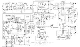 компьютерный блок питания 200 ватт atx