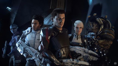Mass Effect Andromeda Initiative Pathfinder Team