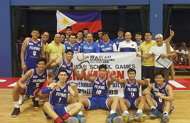 Philippines def. Malaysia, 87-65 (ASEAN School Games 2018) GOLD MEDAL GAME | Replay Video