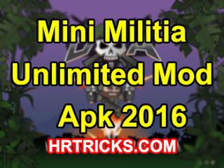 mini militia unlimited ammo health apk 2016 download