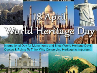 'International Day for Monuments and Sites' or 'World Heritage Day'