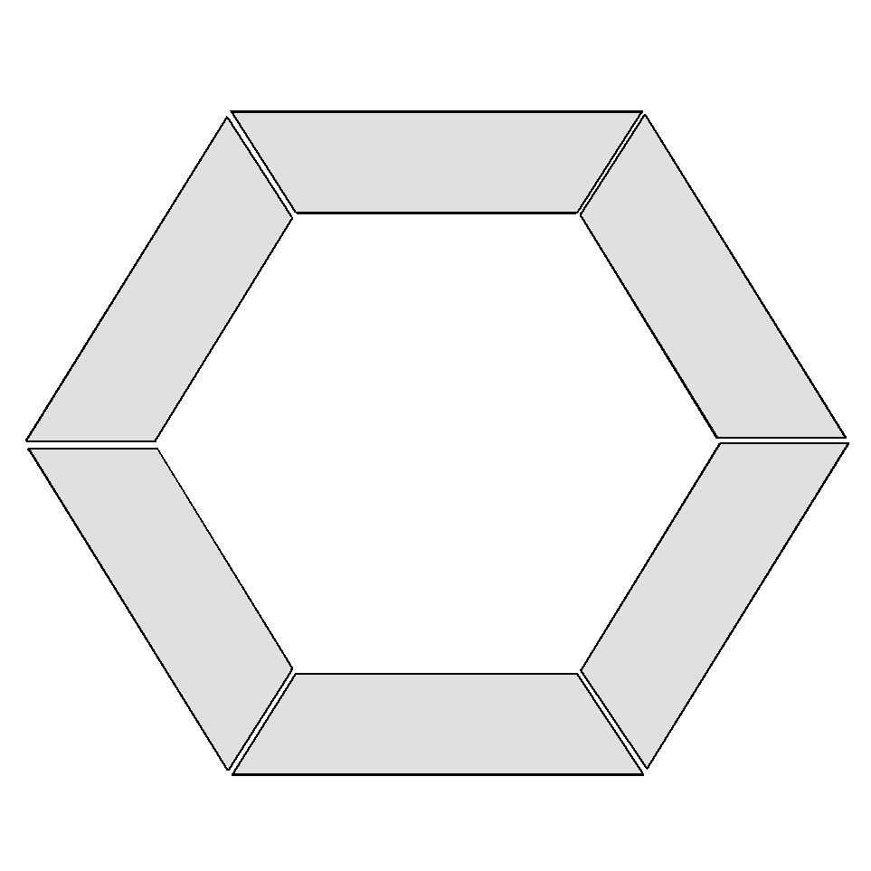 1 5 inch hexagon template - printable hexagon template pictures to pin on pinterest