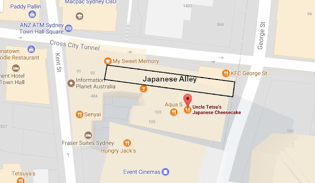 Japanese Alley, Sydney, Australia