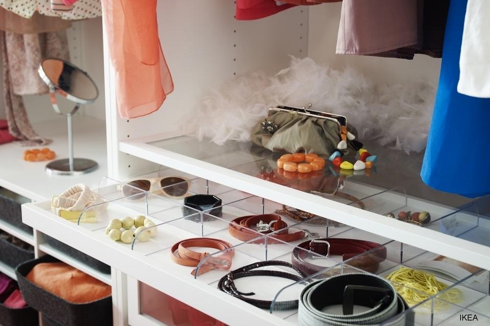 Organizing Wardrobe IKEA