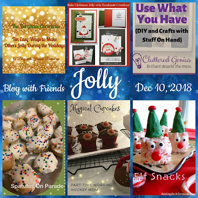 Blog With Friends, a multi-blogger project based post incorporating a theme, Jolly | Featured on www.BakingInATornado.com