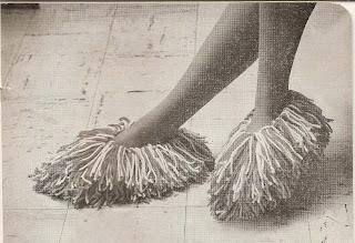 Vintage Moppet Slippers Knitting Pattern