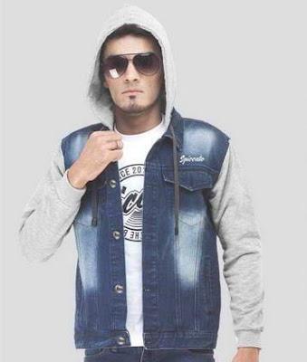 jaket jeans hoodie, jaket jeans levis hoodie