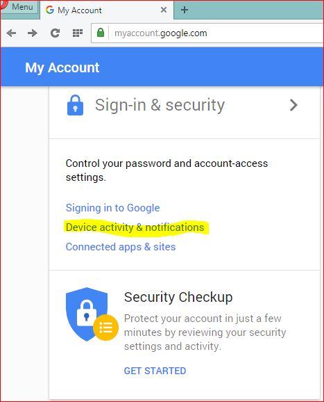 Cara Melihat Handphone Gadget Apa Saja Yang Terhubung Dengan Akun Google Kamu Kobbom