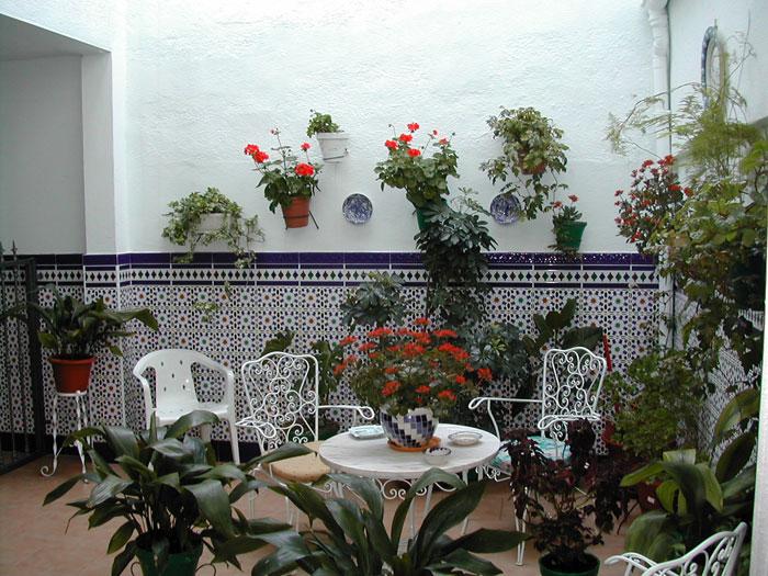 patio pequeos snafab techado patio decoracin with patios interiores