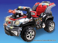 Mobil Mainan Aki Junior QX7633 Commander Jeep - 2 Kursi