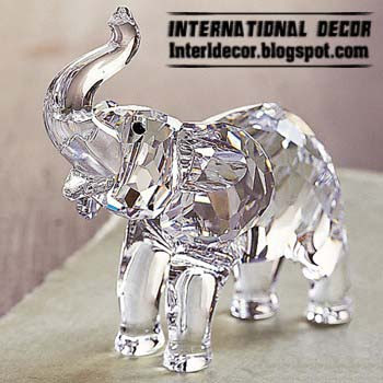 Contemporary Crystal Figurine Accessories And Sculptures