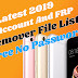 Latest 2020 Mi Account And FRP Remover File List [Free No Password]