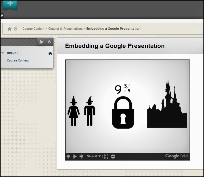 Embedding ensures a smooth, seamless educational experience