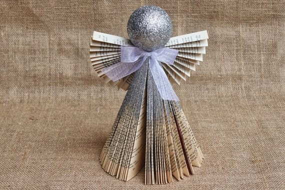 How To Recycle Recycled Christmas Angel Ornaments