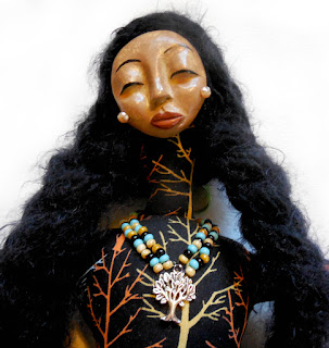 Strength of the Alder Woman OOAK Spirit Doll Original Sculpt