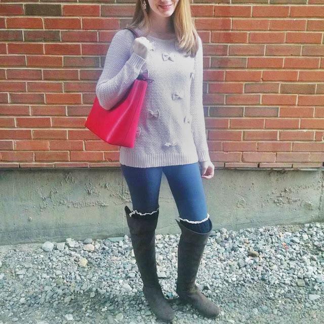 Lauren Conrad OTK Boots Kate Spade