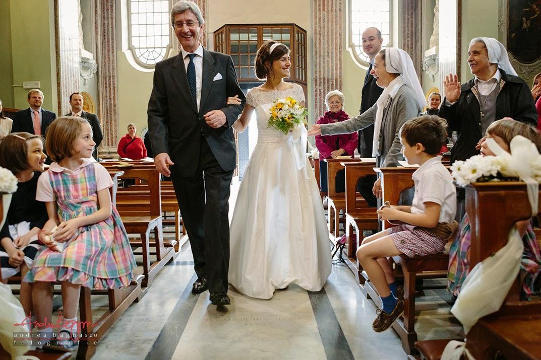 ingresso sposa matrimonio Genova Castelletto
