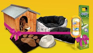 Logo Vinci gratis Swiffer e Kit Casa Pet con Desideri Magazine