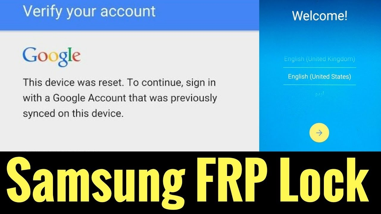 Samsung FRP Tool Remove,Reset 100% Tested Free Download