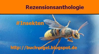 Rezensionsanthologie #Insekten Logo