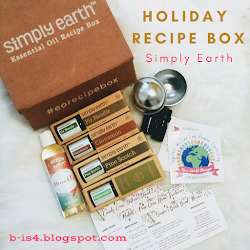 Simply Earth Holiday Recipe Box