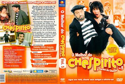 Série O Melhor do Chespirito Volume 5 DVD Capa