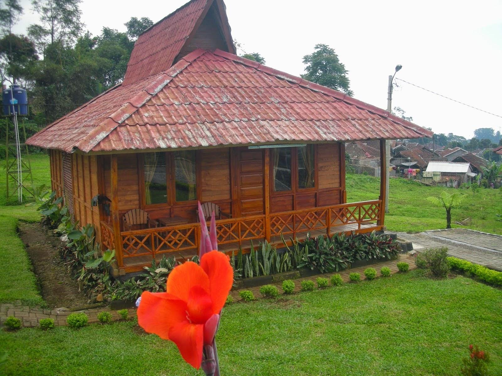 villa di tengah kebun teh ciater