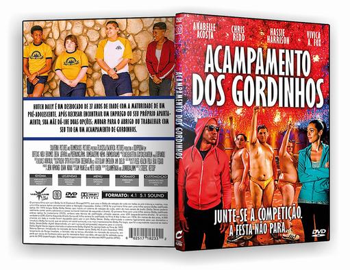 DVD-R Acampamento dos Gordinhos – AUTORADO