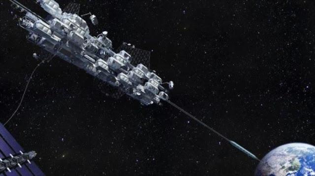 Japón proyecta un ascensor espacial para conectar Tierra con EEI
