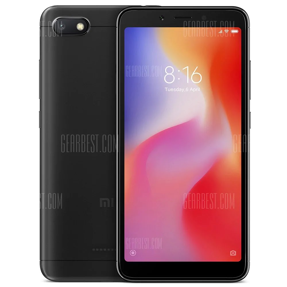 Xiaomi Redmi 6A 2GB 32GB 4G Smartphone Global Edition Gearbest Coupon