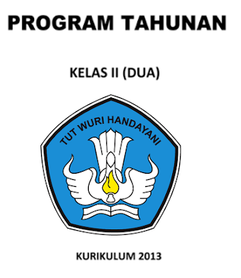 Contoh Prota Promes dan KKM Kurikulum 2013 SD Kelas 2