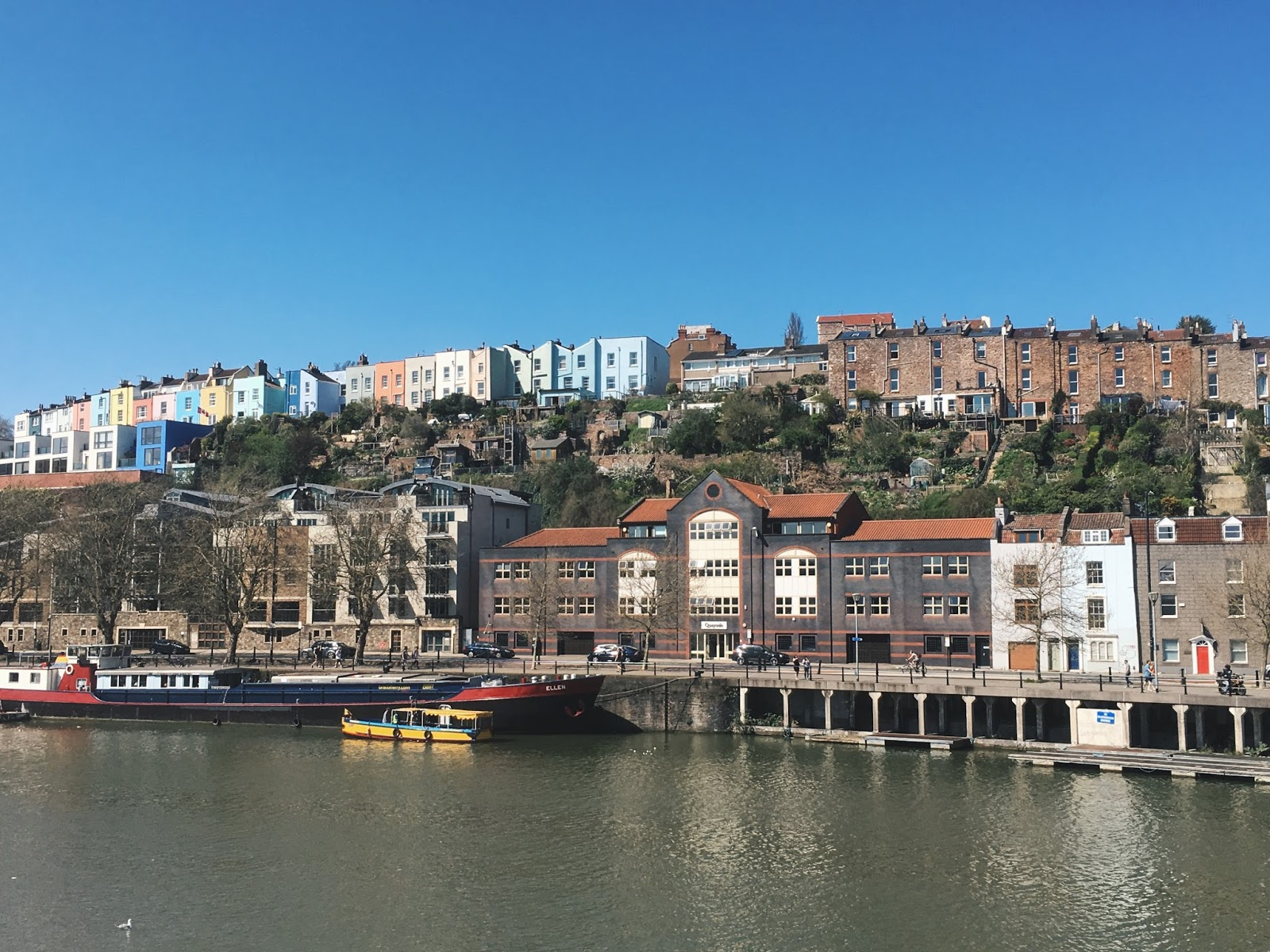 bristol harbourside waterfront river avon