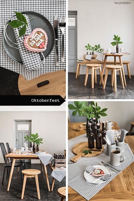 raumideen tischidee oktoberfest. Black Bedroom Furniture Sets. Home Design Ideas